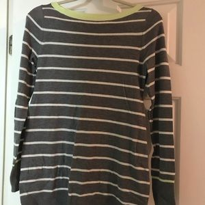 GAP Maternity Striped Sweater